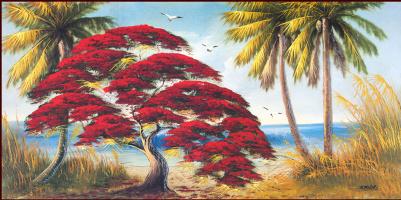 Гарольд Ньютон. Тропический пейзаж 57