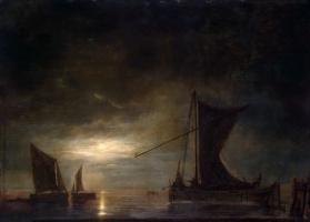 Альберт Кейп. Море при лунном освещении