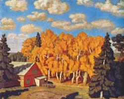 Николай Петрович Крымов. Осень