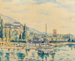Henri Manguin. Neuchatel, Switzerland