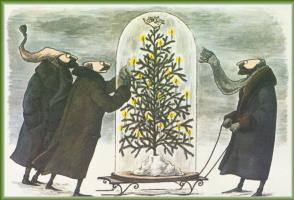 Эдвард Гори. Рождественская открытка