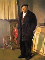 Франсиско Себастьян. Мужчина в черном пальто