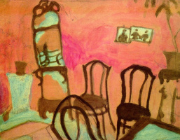 Марк Захарович Шагал. Маленькая гостиная