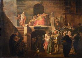 Николаус Кнюпфер. Пилат, умывающий руки