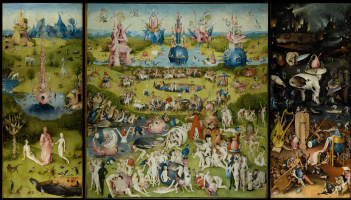 Hieronymus Bosch. The garden of earthly delights