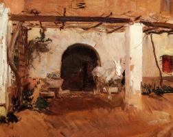 Хоакин Соролья (Соройя). Садовый домик, Валенсия