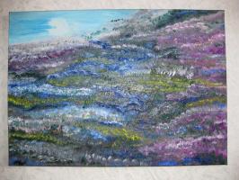 Галина Николаевна Силина. Spring in the mountains.