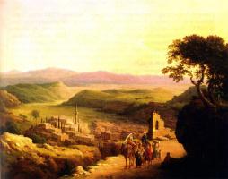 Никанор Григорьевич Чернецов. Вид Назарета в Галилее. 1869