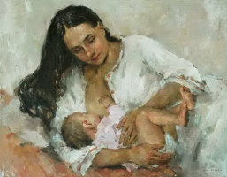 The mother and child. 2013