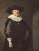 Рембрандт Харменс ван Рейн. Портрет поэта Яна Херманса Крула