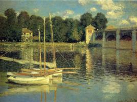 Claude Monet. The bridge at Argenteuil