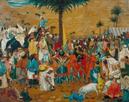 Richard Dudd. Flight from Egypt