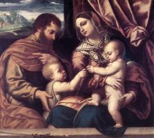 Моретто да Брешиа. Семья святых