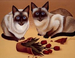 Лоуэлл Эрреро. Коты. Май