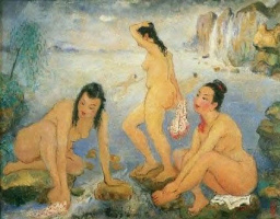 Pan Yulyan. Bathing