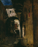 Михай Либ Мункачи. Темная улица