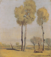 Фердинанд Ходлер. Испанский пейзаж