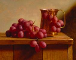 Патриция Уотвуд. Натюрморт с виноградом