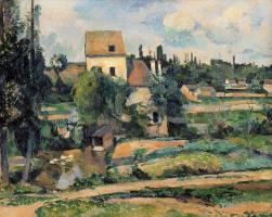 Paul Cezanne. Mill in PONTOISE