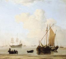 Виллем ван де Вельде Младший. Сюжет 3