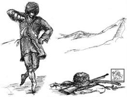Олег Деньгинов. Иллюстрация, заставка в книге