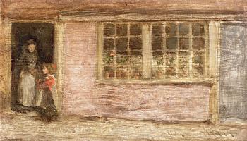 Джеймс Эббот Макнейл Уистлер. Магазинное окно