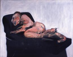 Фрэнсис Бэкон. Спящая фигура