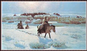 Джон Клаймер. Зимняя дорога