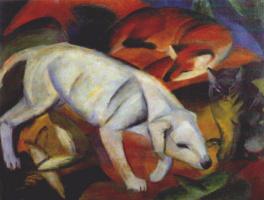 Франц Марк. Собака, лиса и кот