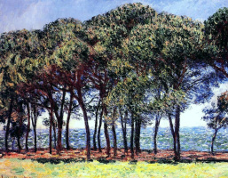 Claude Monet. Pine Trees, Cap D'antibes