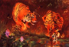 Чыонг Бу Гиам. Тигры
