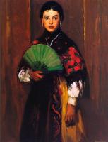 Роберт Генри. Крестьянская девушка из Сеговии