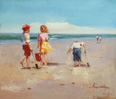 Савелий Камский. Дети и море. N3