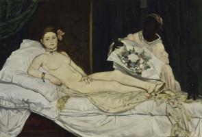 Edouard Manet. Olympia