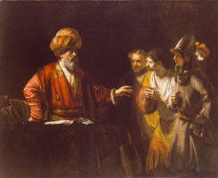 Рембрандт Харменс ван Рейн. Центурион Корнелий (Притча о немилосердном должнике)