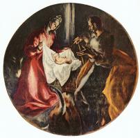 Эль Греко (Доменико Теотокопули). Рождение Христа