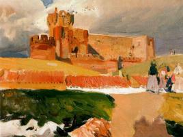 Хоакин Соролья (Соройя). Замок Ла Мота, Медина-дель-Кампо