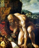 Ян Сандерс ван Хемессен. Кающийся Святой Иероним