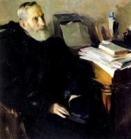 Борис Михайлович Кустодиев. Портрет С. А. Никольского