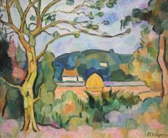 Jean Metzinger. Landscape
