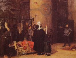 Жан-Поль Лоран. Похороны Вильгельма Завоевателя