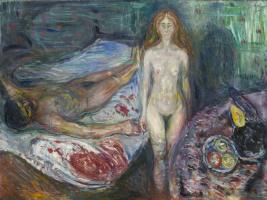 Edward Munch. The Death Of Marat