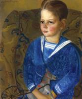 Борис Дмитриевич Григорьев. Мальчик в матросске