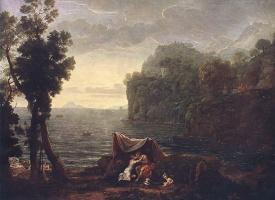 Клод Лоррен. Пейзаж с Ацис
