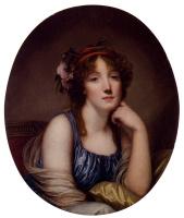 Жан-Батист Грёз. Женский портрет