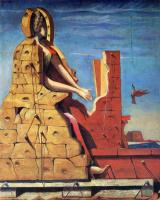 Max Ernst. Saint Cecilia (invisible piano)