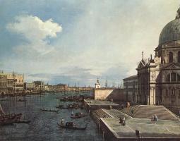 Джованни Антонио Каналь (Каналетто). Большой канал в Салюте