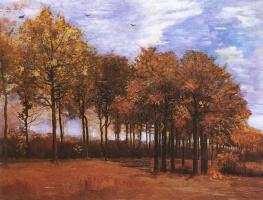 Винсент Ван Гог. Осенний пейзаж