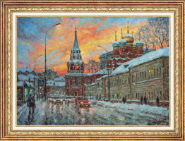Igor Razzhivin. Красота зимнего заката