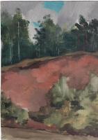 Arkady Pavlovich Laptev. Forest Yard